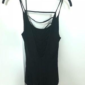 LF black bodysuit